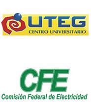logo de UTEG y CFE
